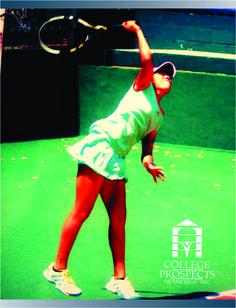 College prospects of America felicita a Carla Flores que se ha comprometido para asistir a University of Akron Si también quieres lograr la oportunidad de estudiar y competir en una universidad de los Estados Unidos INGRESA AQUI: www.cpoala.com #tenis #becasdeportivas