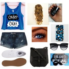 Designer Clothes, Shoes & Bags for Women Other Outfits, Cute Outfits, Movie Inspired Outfits, Movie Outfits, Rainbow Socks, Fandom Fashion, The Fault In Our Stars, Cool Shirts, Awesome Shirts