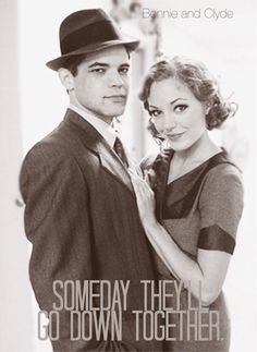 Bonnie & Clyde - Jeremy Jordan and Laura Osnes Bonnie And Clyde Musical, Bonnie Clyde, Broadway Theatre, Musical Theatre, Broadway Shows, Laura Osnes, Bonnie Parker, Theatre Nerds, Thats The Way