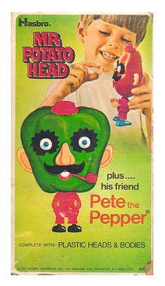 1970 Hasbro Mr. Potato Head Pete the Pepper