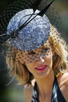 Royal Ascot - if you have a small head like me then this is ideal for you on ladies day at Ascot