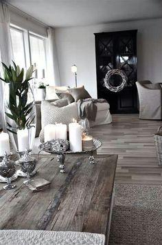 Metallic grey living space