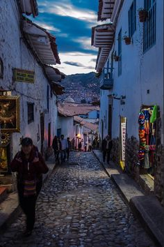 Streets of Cuzco, Peru
