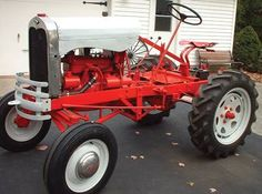 A vary well done owner-built tractor.  It looks like a Model A Ford Automobile was the source.