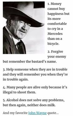 Wisdom Quotes, True Quotes, Great Quotes, John Wayne Quotes, Insightful Quotes, Levels Of Understanding, Knowledge Quotes, Cute Stories, Word Up