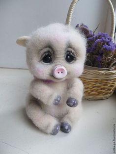 Toy animals, handmade. Fair Masters - handmade Porosyushka. Handmade.