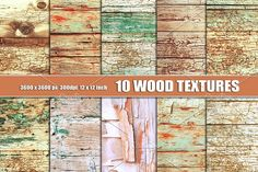 Shabby Chic Wood textures background by Area on @creativemarket