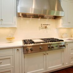 Beautiful Ice White Shaker Cabinets