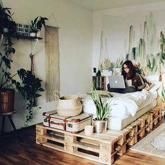 41 On a budget DIY palette for minimalist home - Zimmer Einrichten - Deco Tip Apartment Decorating On A Budget, Apartment Ideas, Interior Decorating, Zen Decorating, Apartment Plants, Cozy Apartment, Rustic Apartment Decor, Decorating Bedrooms, Decorating Websites