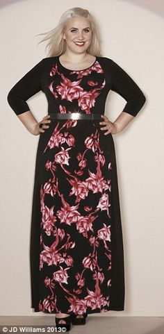 77c77cbc2c535 Claire Richards  first plus-size fashion range is super chic (and no neon  leopard print in sight)