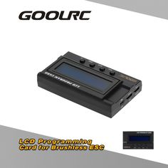 GoolRC LCD Programming Card Box for RC Car ESC Electronic Speed Controller