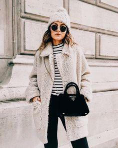 fuzzy winter attire
