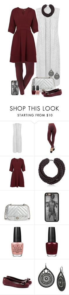 """The Leia Collection: Among the Clouds"" by leighanned ❤ liked on Polyvore featuring WearAll, Whistles, Alienina, BP., Disney, OPI, Melissa, Mixit, starwars and princessleia"