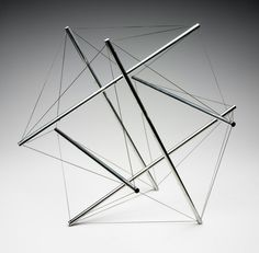 Six Part Push Pull Tensegrity – Objects - RISD MUSEUM