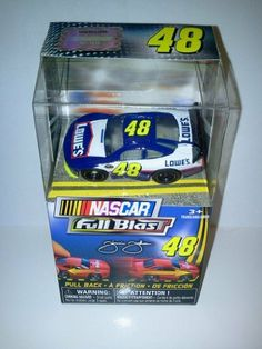 Nascar FULL BLAST Pull Back Car #48 Jimmie Johnson Lowes 2011 New ...