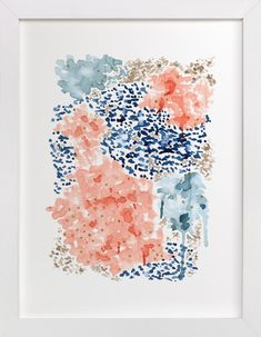 Flutter Watercolor by Andi Pahl at minted.com