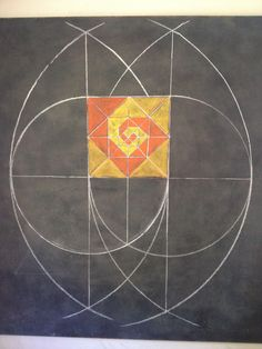 Age 12 ~ Geometric Drawing ~ Turning Nesting Squares ~ Construction and Deconstruction of a Square ~ chalkboard drawing Blackboard Drawing, Chalkboard Drawings, Chalk Drawings, Chalkboard Art, Waldorf Math, Geometric Construction, 7th Grade Art, Form Drawing, Geometric Drawing
