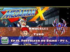 Mega Man X - Fortaleza do Sigma - Parte 1