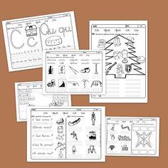 Recursos para el aula: Lectoescritura con la C y Q