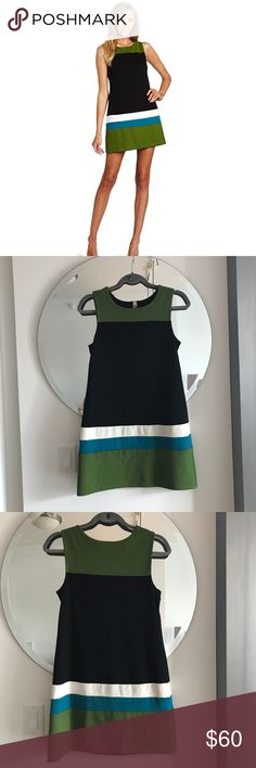 Bailey 44 Carlo Ponti Mod Stripe Shift Dress Small Like new, flawless mod shift from Bailey 44. Super cute with ballet flats or a funky block heel bootie. Looks crisp but feels comfy! Size Small. Made in US. Offers welcome, no trades. Bailey 44 Dresses Mini
