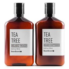Tea Tree Beard Wash & Softener Set | Sulfate Free Grooming by Beardbrand