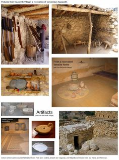 Exploring Biblical Places and Times: A House In Nazareth