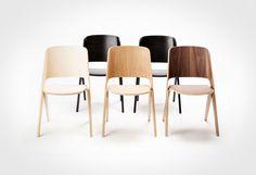 Good wood - simple and sleek, the Lavitta molded plywood chair range
