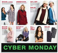 Macy's Cyber Monday Ad Scan, Deals and Sales 2019 The Macy's 2019 Cyber Monday ad is here! Be sure to subscribe to our newsletter to receive emails about all the latest Cyber Monday news and ad leaks ... #cybermonday #macys Macys Black Friday, Cyber Monday Ads, Monday News, Minimiser Bra, Petite Size, Cashmere Sweaters, Rib Knit, Skinny Jeans, Coat