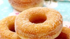 Homemade donuts with sugar - Food recipes, Homemade donuts with sugar Cooking tips / . Bakery Recipes, Donut Recipes, Dessert Recipes, Tasty Videos, Food Videos, Delicious Donuts, Yummy Food, Bon Dessert, Homemade Donuts