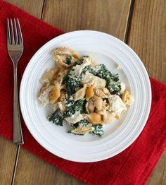 Chicken and kale casserole