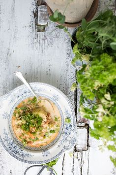 Summer Salmon Soup