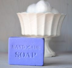 HANDMADE LAVENDER SOAP olive and coconut