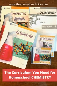 On the lookout for homeschool curriculum for High School Chemistry? Give Apologia Science's NEW 3rd edition curriculum a try! Read details and find a giveaway here! Chemistry Textbook, High School Chemistry, Chemistry Lessons, Teaching Chemistry, Middle School Science, Used Homeschool Curriculum, High School Curriculum, Homeschooling Resources, Giveaway