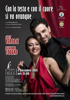 Giusy Versace e Raimondo Todaro