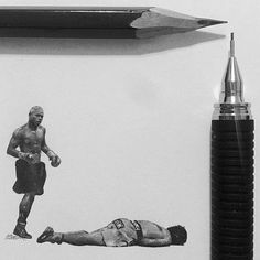 Tiny Pencil Portraits by Ashish Patel | The Dancing Rest http://thedancingrest.com/2015/10/29/tiny-pencil-portraits-by-ashish-patel/