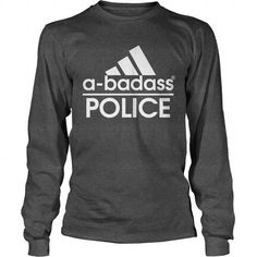 Abadass POLICE Cool Tshirt Design Matter Science, Science Tshirts, Hoodies, Sweatshirts, Firefighter, Cool T Shirts, Police, How To Make, Clothes