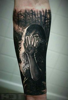 I wish I could get a tattoo like this. Amazing