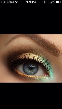 """makeup For Blue Eyes"""