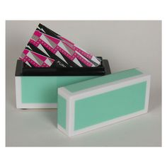 I'm so digging this lacquer busines card holder from the Furbish Studio! Desk neccessity, no doubt