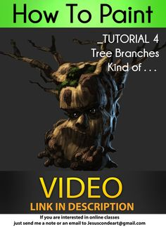 How To Paint TREE BRANCHES_ Jesus Conde Tutorial 4 by JesusAConde.deviantart.com on @deviantART http://jesusaconde.deviantart.com/art/How-To-Paint-TREE-BRANCHES-Jesus-Conde-Tutorial-4-416883709 ★ || CHARACTER DESIGN REFERENCES | キャラクターデザイン • Find more artworks at https://www.facebook.com/CharacterDesignReferences http://www.pinterest.com/characterdesigh and learn how to draw: #concept #art #animation #anime #comics || ★