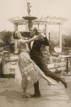 The foxtrot: a Vaudeville star by the name of Harry Fox began what today we call the Foxtrot.