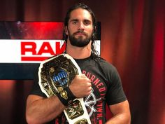 Seth is about to be a double champion again this Sunday! Wwe Seth Rollins, Seth Freakin Rollins, Zack Ryder, Eddie Guerrero, Best Wrestlers, Wwe Champions, Daniel Bryan, Brock Lesnar, Aj Styles