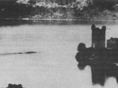 """The MacNab Photograph (1955) Bank manager Peter MacNab took this photo on a """"warm hazy"""" July afternoon in 1955, but he didn't share it with the world until October 1958 on account of """"diffidence and fear of ridicule."""" It quickly came to be considered a classic Loch Ness Monster photo"""