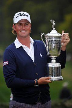 Webb Simpson 2012 U.S Open winner. Score 281 (+1).