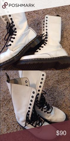 Women's size 7 Dr Martens Only worn a few times. They're  in great condition Dr. Martens Shoes Lace Up Boots