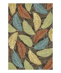 Loving this Brown Tropez Indoor/Outdoor Rug on #zulily! #zulilyfinds