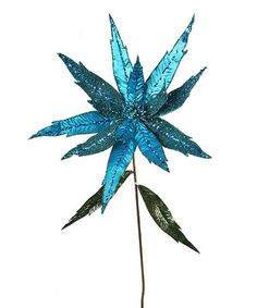 Another great find on #zulily! Large Metal Poinsettia Stem #zulilyfinds