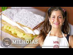 Milhojas de merengue y crema pastelera | Receta paso a paso con MIRI DE MASTERCHEF 5 - YouTube Master Chef, Vanilla Cake, Youtube, Desserts, Recipes, Food, Sweets, Deserts, Step By Step