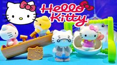 Hello Kitty Vellutata Sweetie Swing & See Saw Scene Playset Toys ハローキティ ...