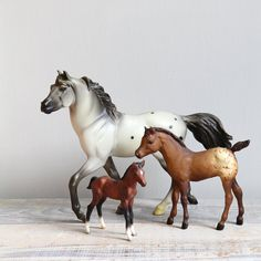 Vintage Breyer Horse Collection....had several of these as a girl....